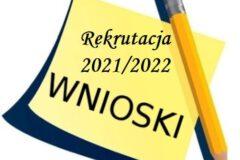 Rekrutacja 2021/2022 do Miejskiego Przedszkola Nr 1 w Limanowej