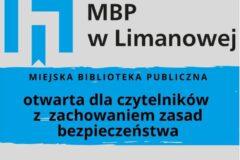 Miejska Biblioteka otwarta dla czytelników z zachowaniem zasad bezpieczeństwa