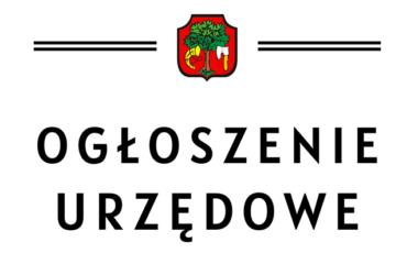 Ogłoszenie Burmistrza Miasta Limanowa z dnia 22.02.2021 roku