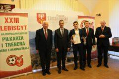 Piłkarze z klubów sportowych z miasta Limanowa nagrodzeni w Plebiscycie Podokręgu Piłki Nożnej