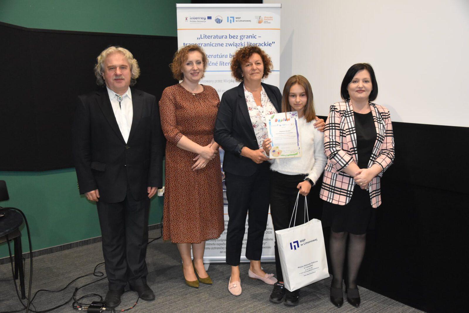Podsumowanie polsko-słowackiego konkursu plastycznego w MBP w Limanowej