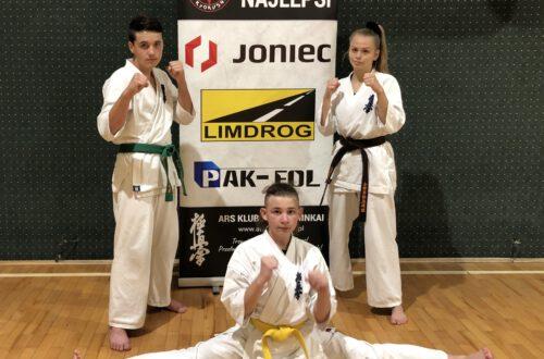 Trójka limanowskich karateków ARS Limanowa – JONIEC Team weźmie udział  w 34. Mistrzostwach Europy Karate Kyokushin