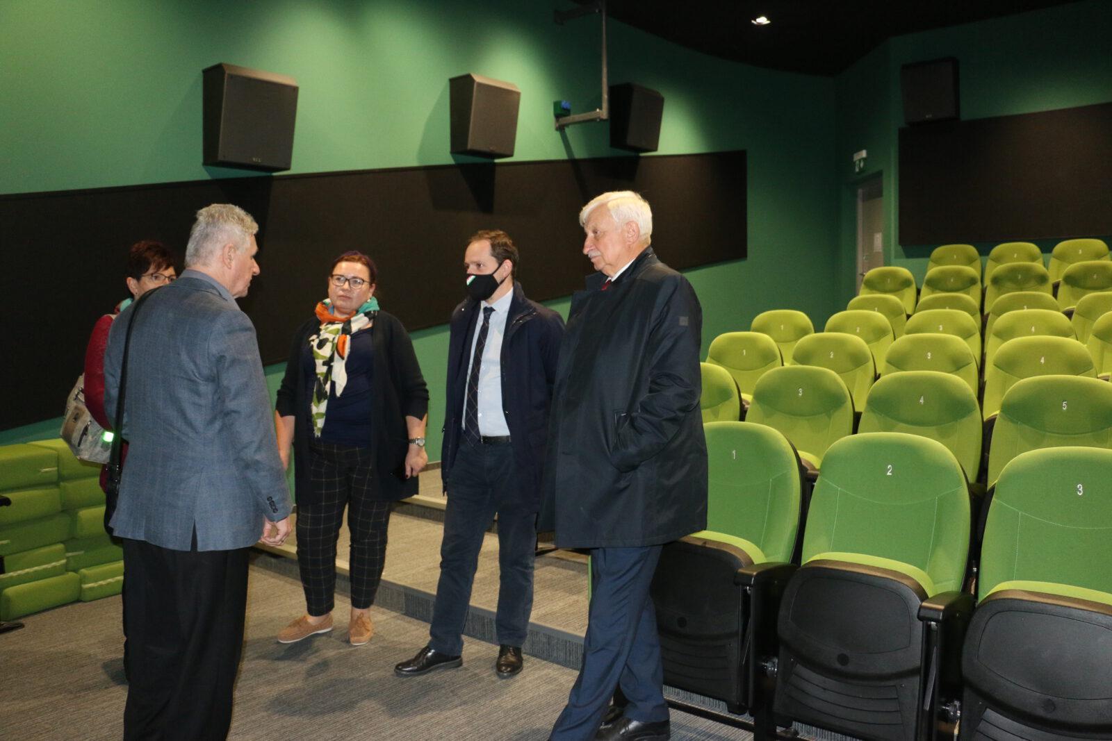 Zdjęcie z wizyty Konsula Generalnego Węgier w Limanowskim Domu Kultury