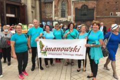 Członkowie LUTW na VIII Międzynarodowych Senioraliach w Krakowie