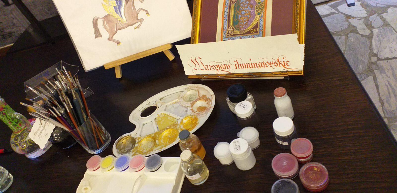 Jesienne spotkania z kaligrafią