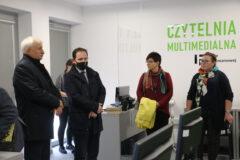 Zdjęcie z wizyty Konsula Generalnego Węgier w Miejskiej Bibliotece Publicznej