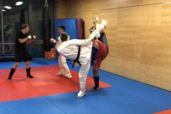Zawodnicy ARS Limanowa- JONIEC Team podczas treningu