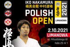 I Otwarty Puchar Polski Karate Kyokushin IKO Nakamura Polish Open 2021 – Limanowa – 2 października