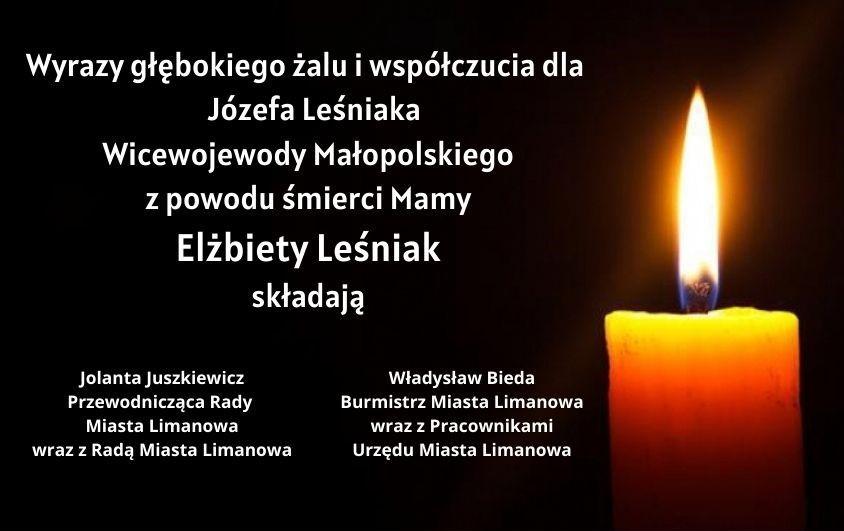 Kondolencje dla Wicewojewody Małopolskiego