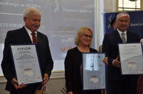 Miasto Limanowa na podium w Ocenie Aktywności Gmin Subregionu Sądeckiego